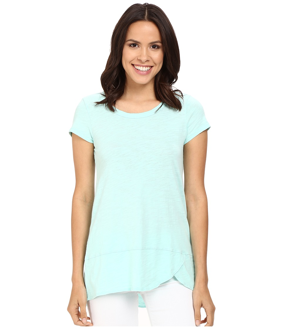 Mod-o-doc - Slub Jersey Short Sleeve Scoopneck Tee (Daquiri Ice) Women's T Shirt