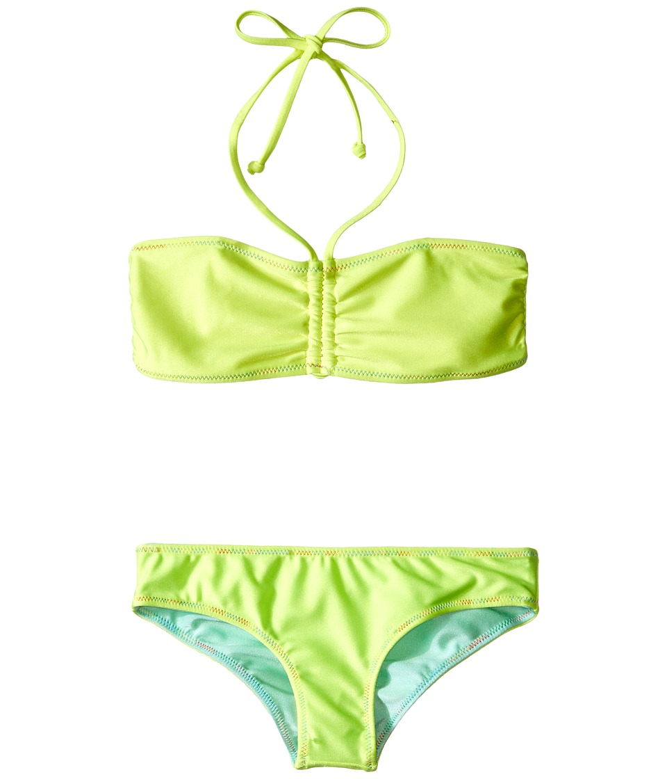 Bowie X James - Sunset Swim Set (Toddler/Little Kids/Big Kids) (Yellow) Girl's Swimwear Sets