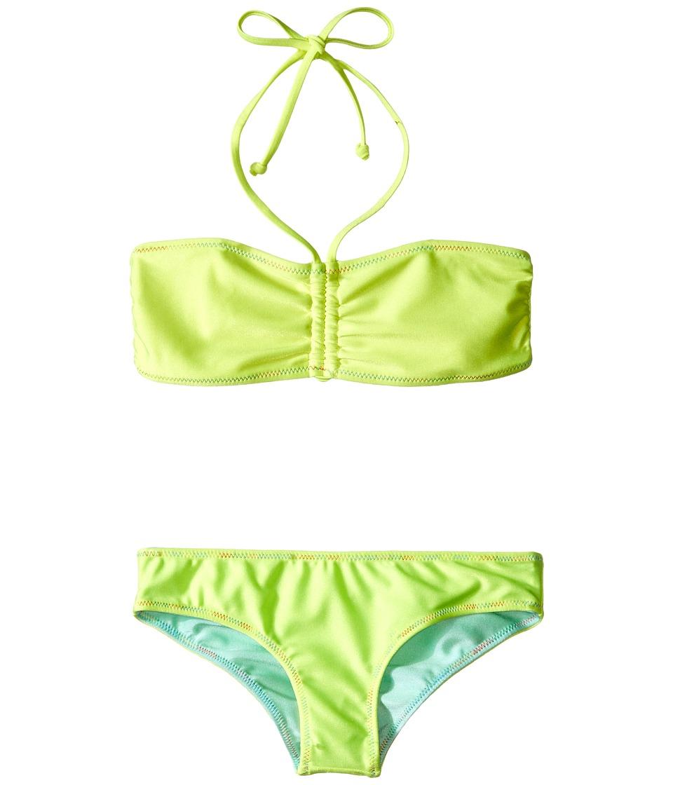 Bowie X James Sunset Swim Set (Toddler/Little Kids/Big Kids) (Yellow) Girl