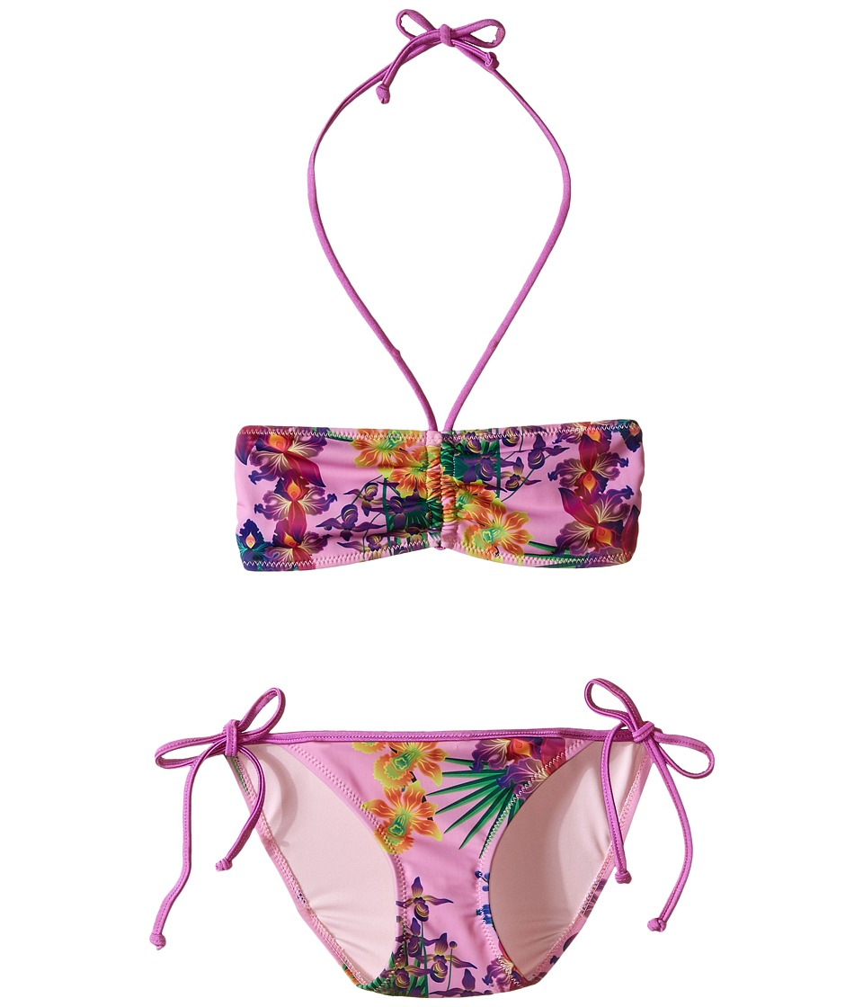 Bowie X James - Amazon Swim Set (Toddler/Little Kids/Big Kids) (Pink) Girl's Swimwear Sets