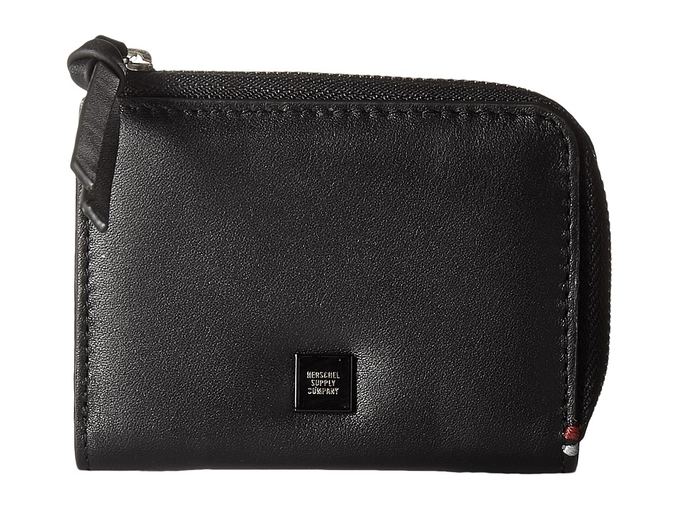 Herschel Supply Co. - Lamont Napa (Black/Gold) Wallet Handbags