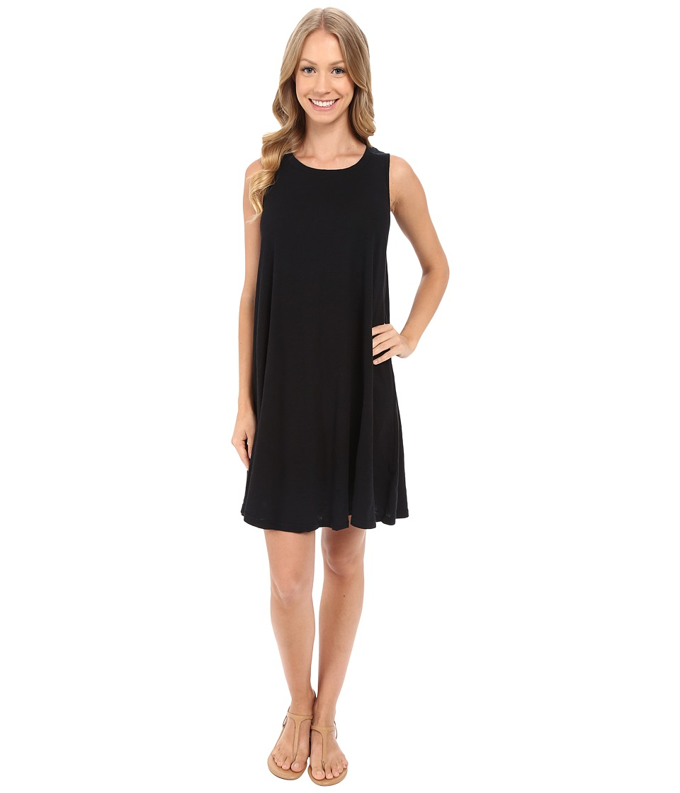 Allen Allen - Swing Dress (Black) Women's Dress