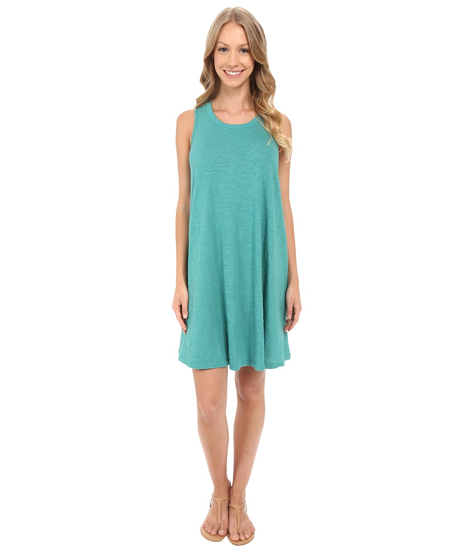 Allen Allen Swing Dress (Emerald) Women