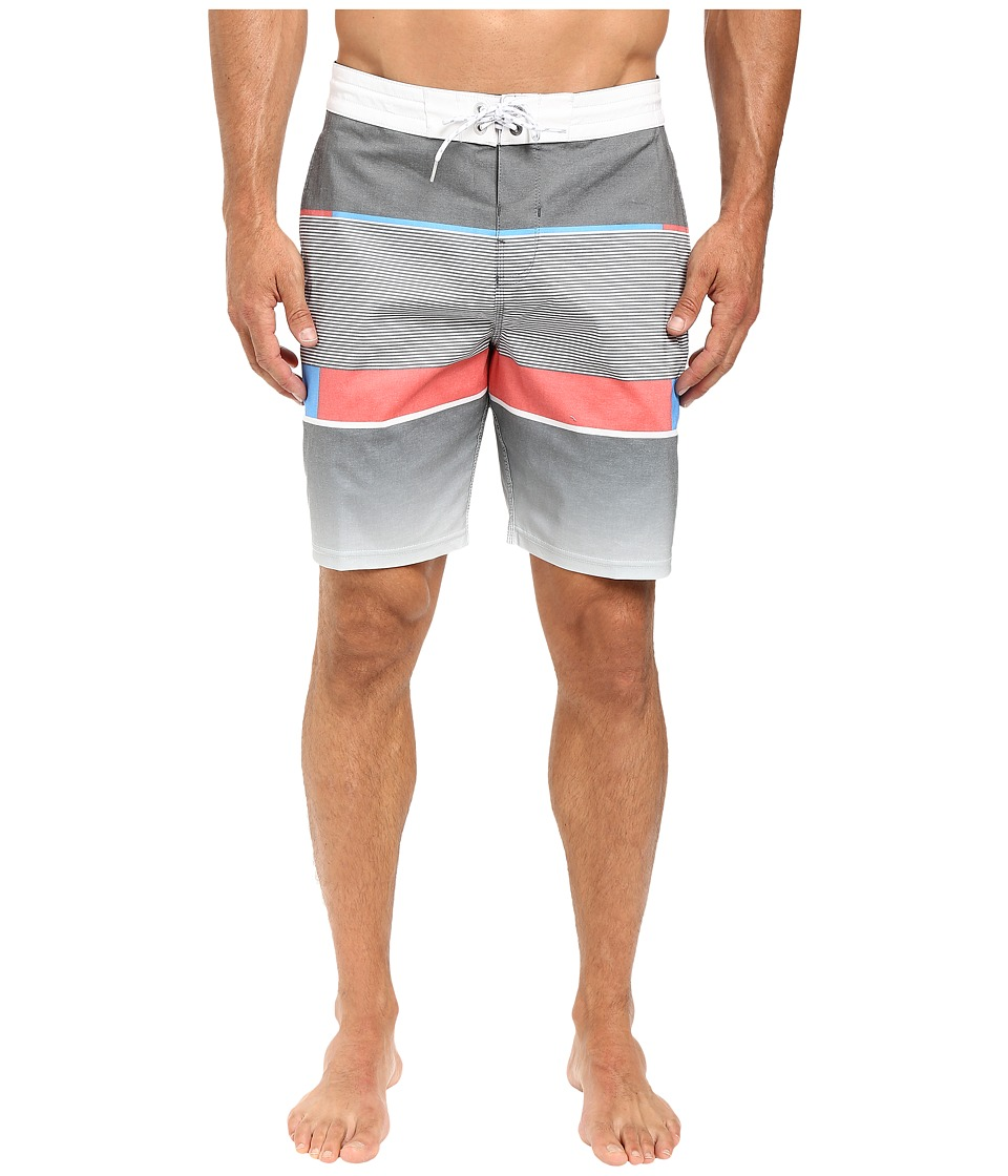 Billabong - Spinner Lo Tides 19 Boardshorts (Black) Men's Swimwear