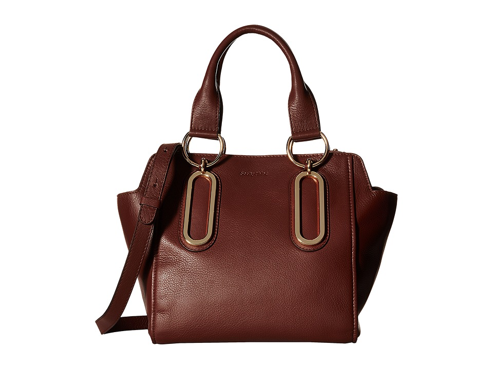 See by Chloe - Paige Crossbody (Chocolate Brown) Cross Body Handbags