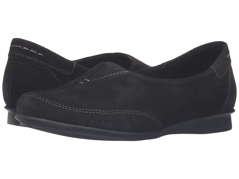 Taos Footwear - Marvey (Black Suede) Women's Shoes