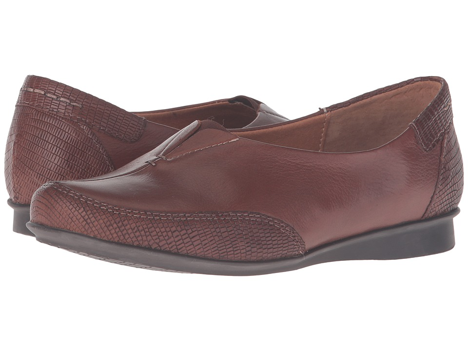 Taos Footwear - Marvey (Cognac Leather) Women's Shoes