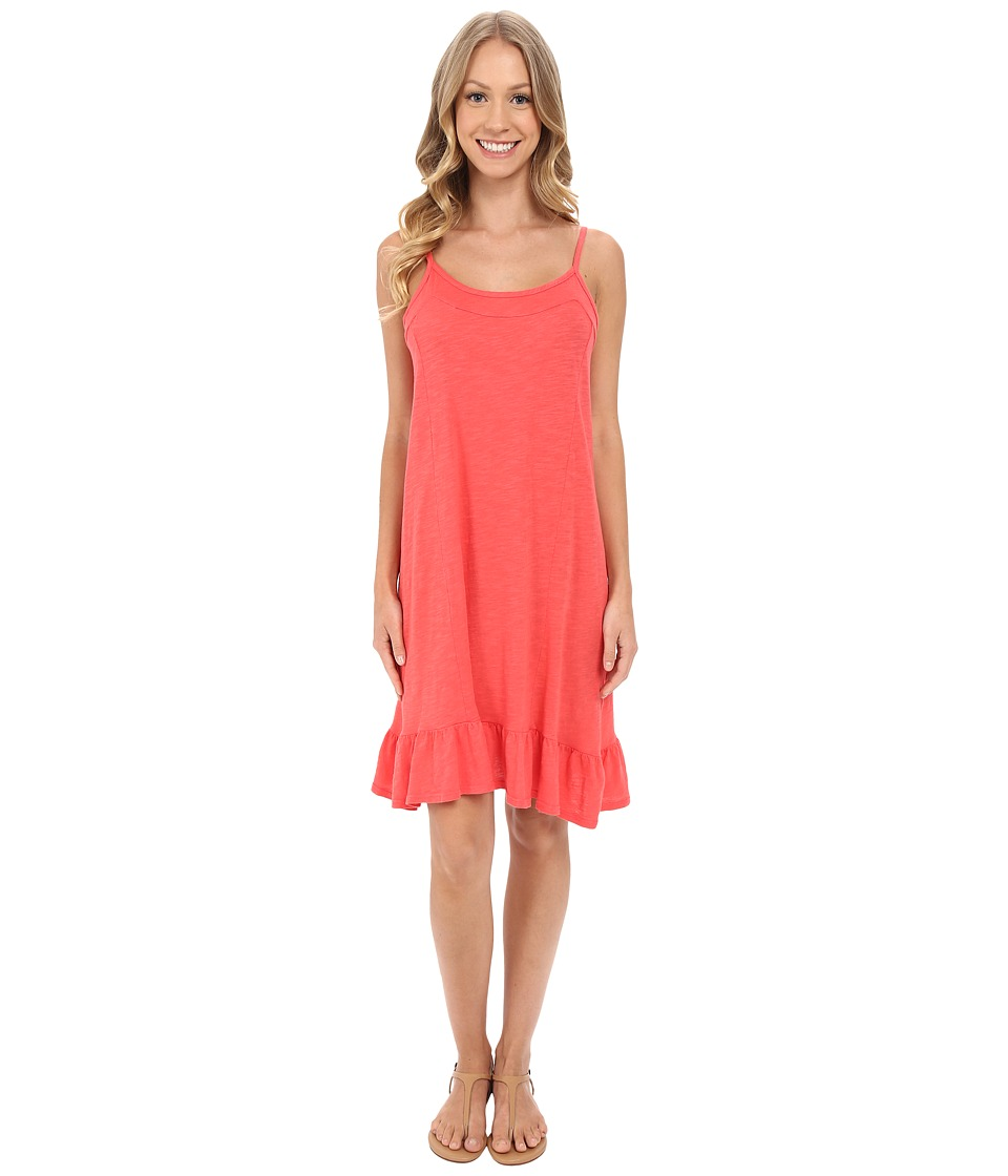 Allen Allen - Cami Ruffle Dress (Begonia) Women's Dress