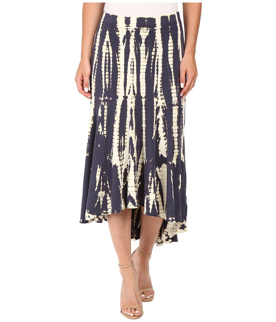 Mod-o-doc - Tie-Dye Rayon Spandex Jersey Tie-Dye Swing Hem Skirt (Gibraltar) Women's Skirt