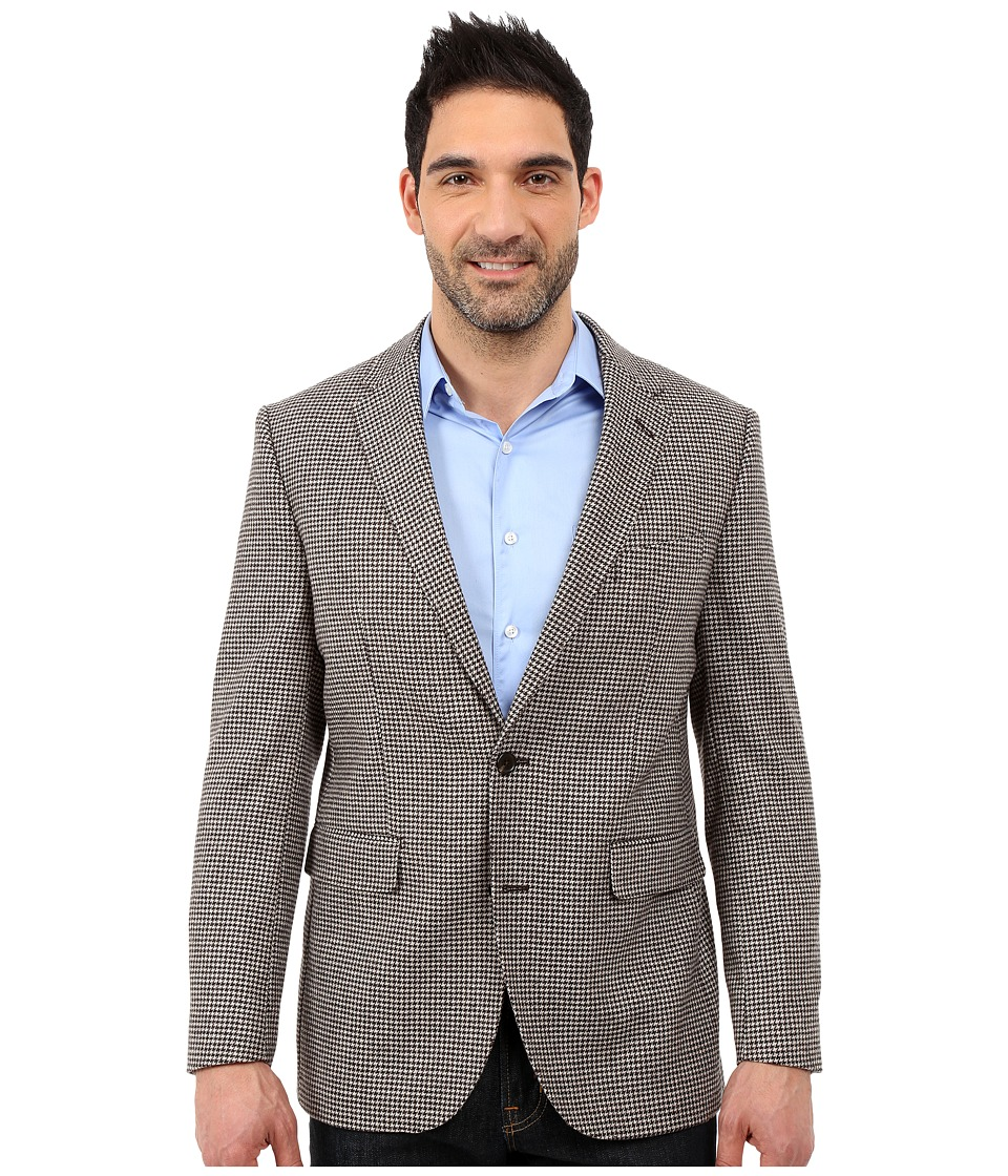 Dockers - Battery Street Sport Coat (Brown Houndstooth) Men's Jacket