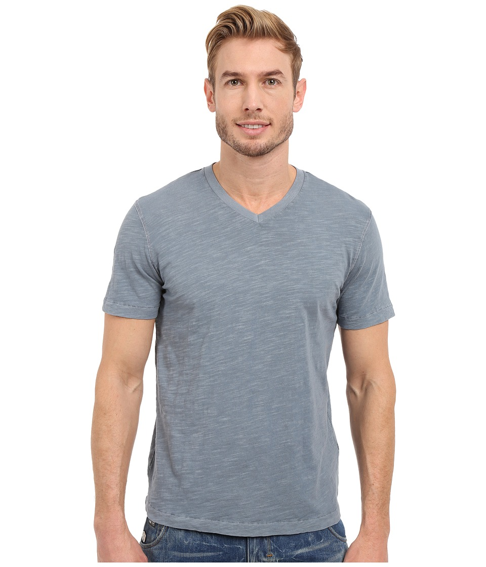 Mod-o-doc - El Porto Short Sleeve V-Neck Tee (Castlerock) Men's T Shirt