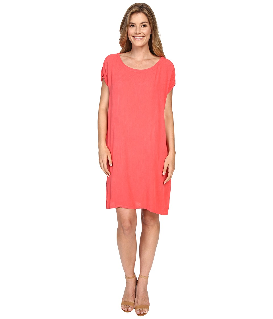 Allen Allen Short Caftan Dress (Begonia) Women
