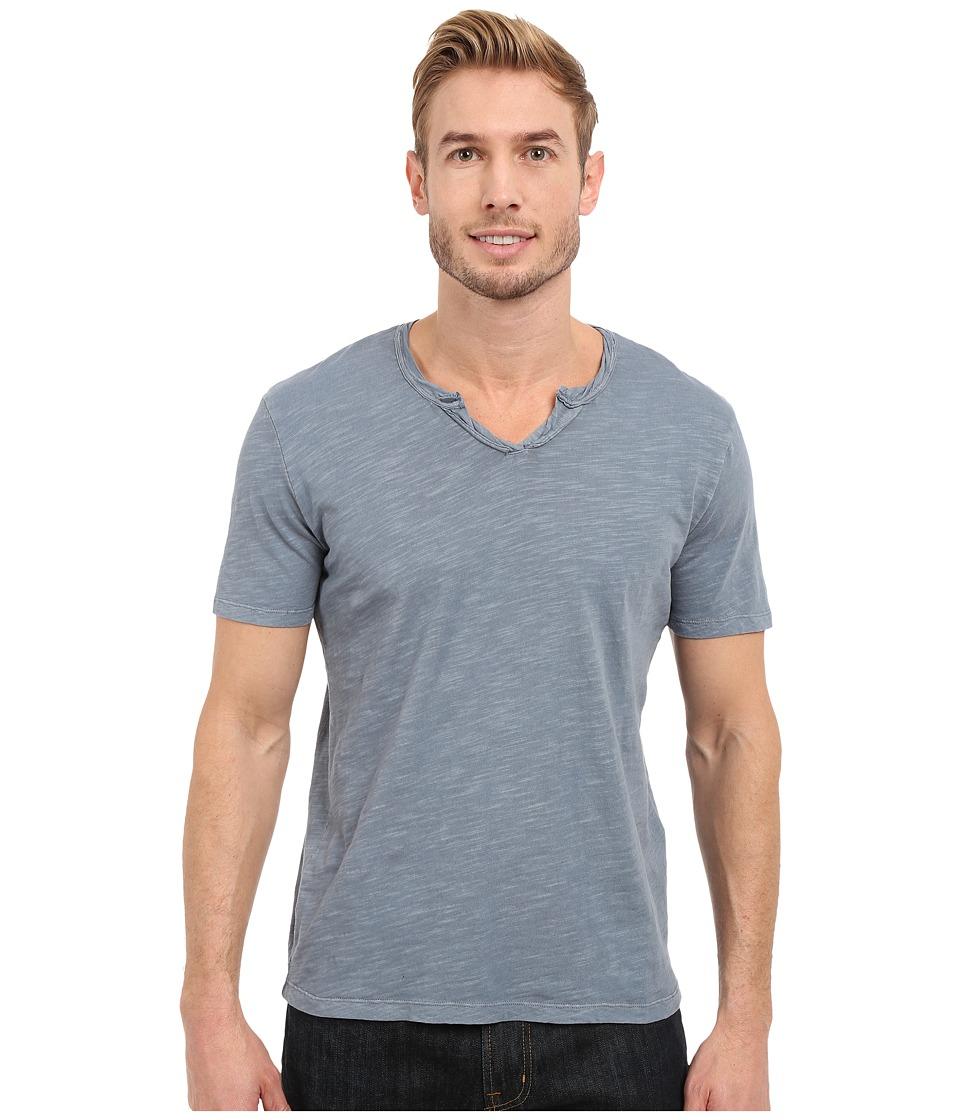 Mod-o-doc - Topanga Short Sleeve Notch V-Neck Tee (Castlerock) Men's T Shirt