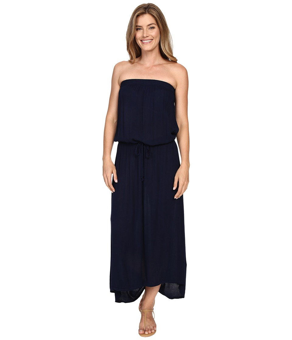 Allen Allen - High-Low Tube Dress (Lapis) Women's Dress