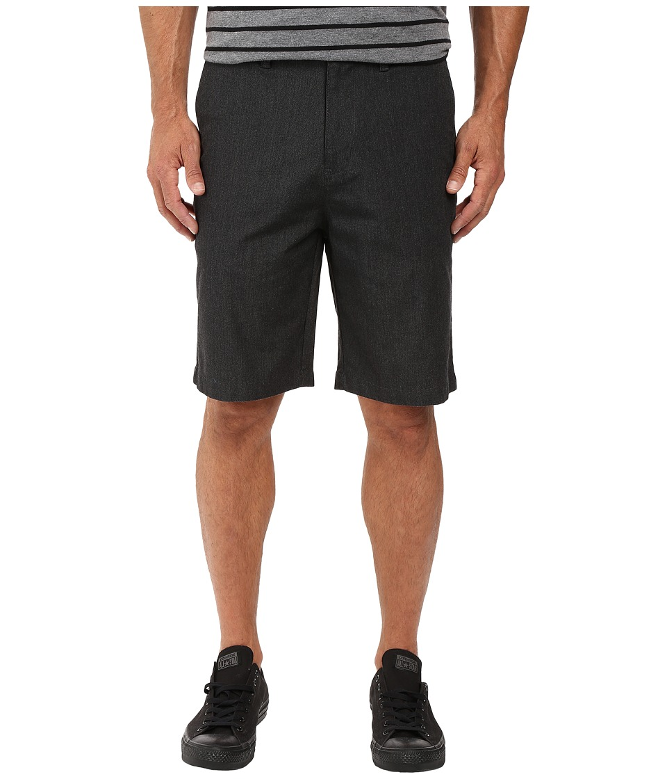 Billabong - Carter Stretch Chino Shorts (Black Heather) Men's Shorts