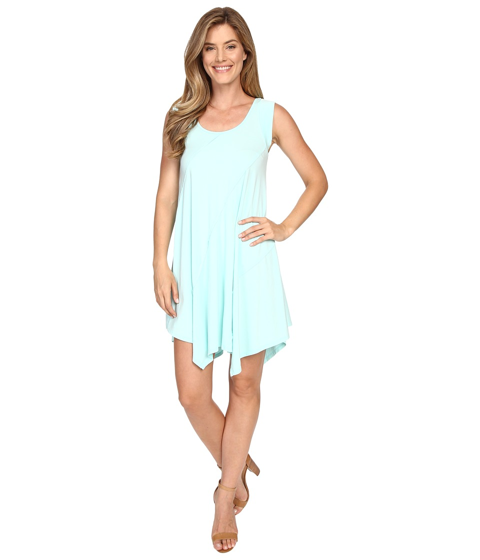 Mod-o-doc - Cotton Modal Spandex Asymmetrical Seam Dress (Daquiri Ice) Women's Dress