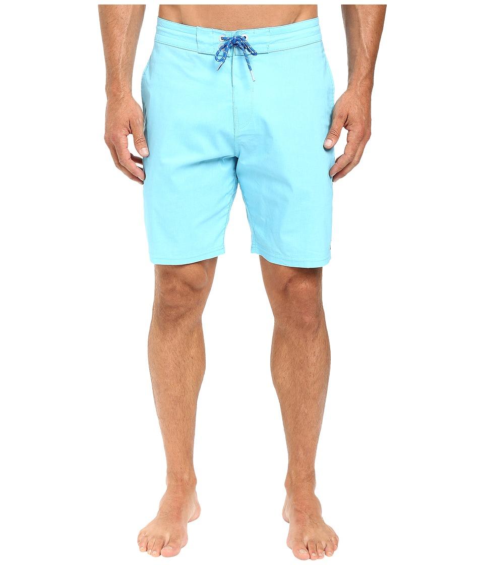 Billabong - All Day Lo Tides 19 Boardshorts (Cyan) Men's Swimwear
