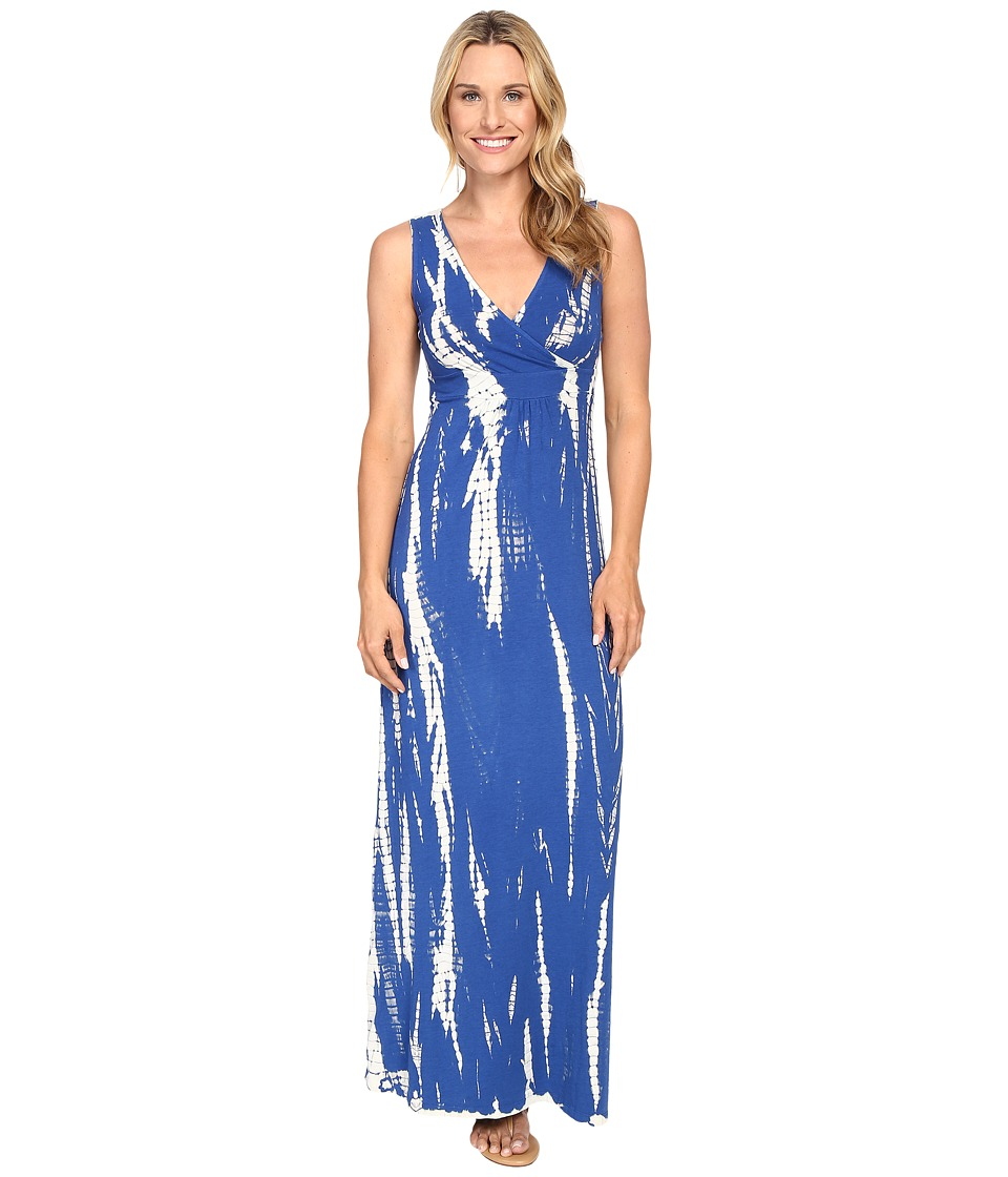 Mod-o-doc - Tie-Dye Rayon Spandex Jersey Tie-Dye Maxi Tank Dress (Sailor) Women's Dress