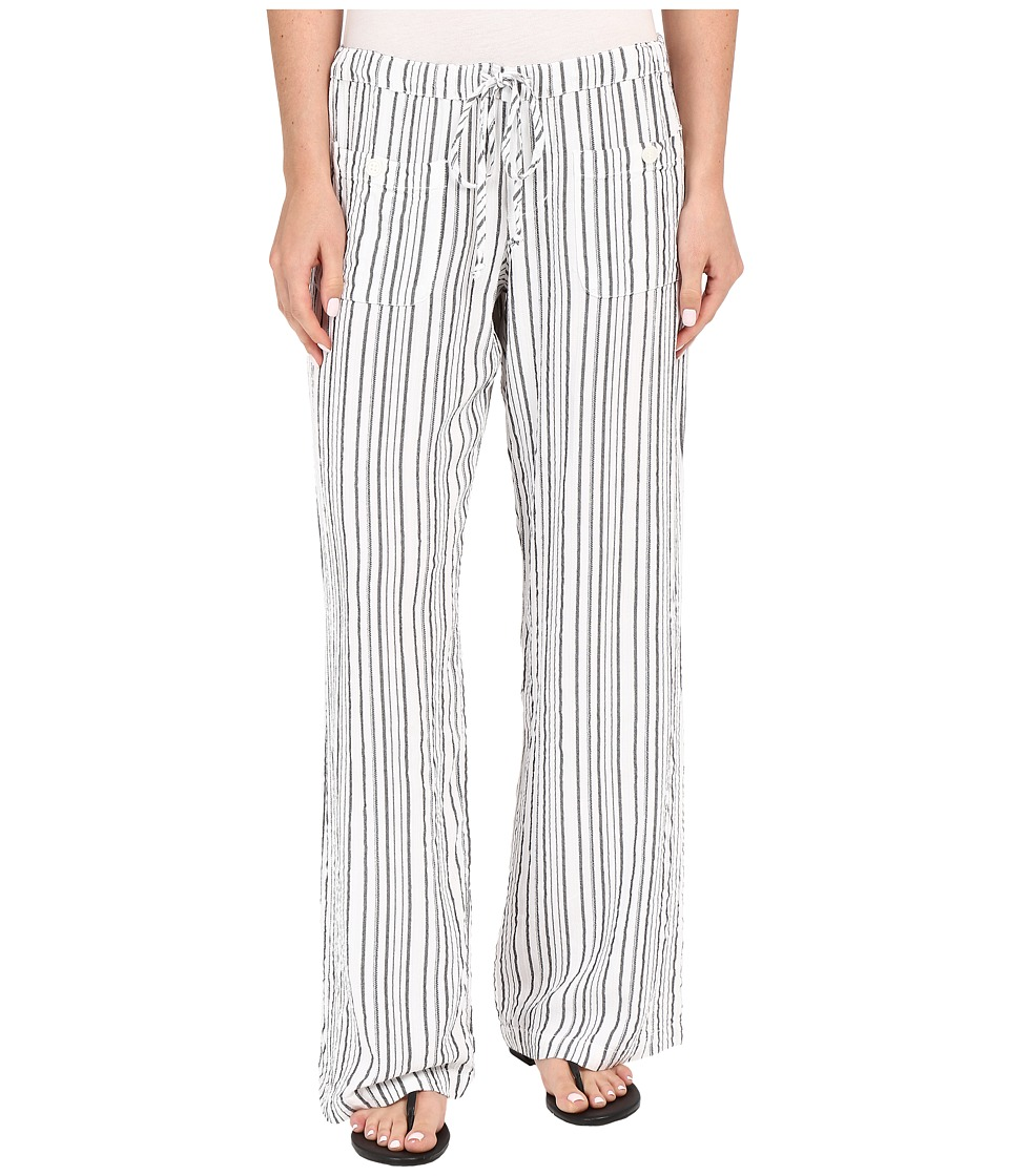 Allen Allen - Four-Pocket Long Pants (White) Women's Casual Pants