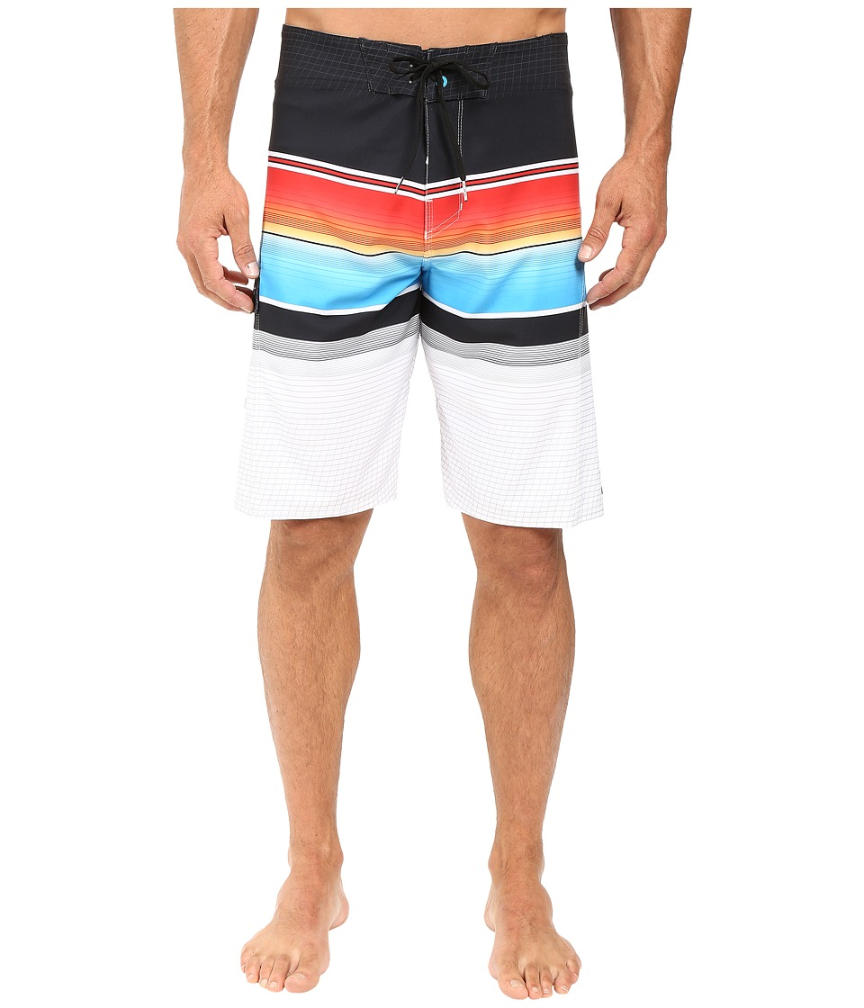 Billabong - All Day Stripe 21 Boardshorts (Neon) Men's Swimwear