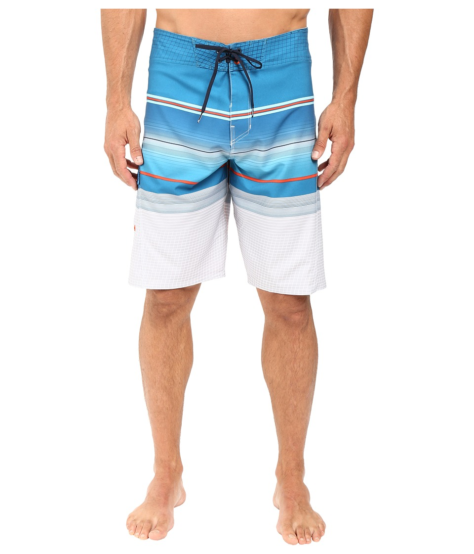 Billabong - All Day Stripe 21 Boardshorts (Ocean) Men's Swimwear