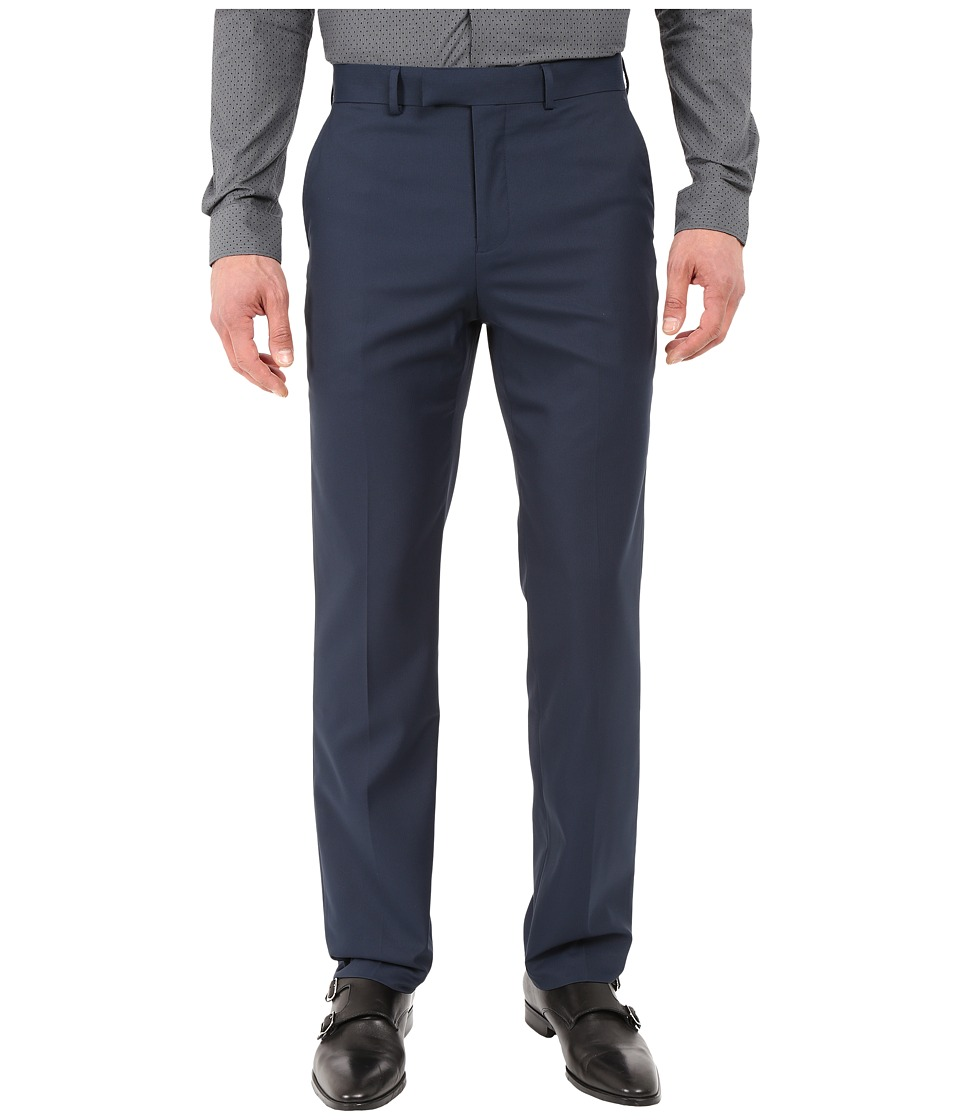 Dockers - Slim Fit Performance Dress Pants (Navy) Men's Casual Pants