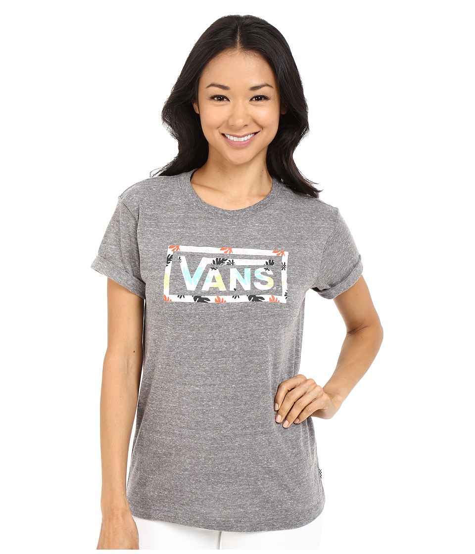 Vans - Kelp Surround (Grey Heather) Women's T Shirt