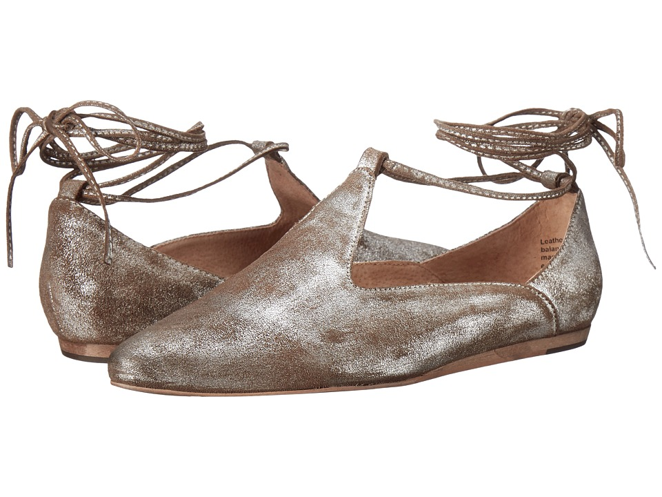 Seychelles - Hive (Pewter Metallic Suede) Women's Shoes