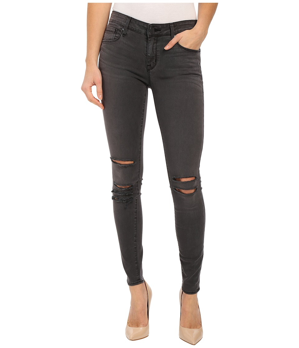 Parker Smith - Kam Skinny Jeans in Pewter Destroy (Pewter Destroy) Women's Jeans
