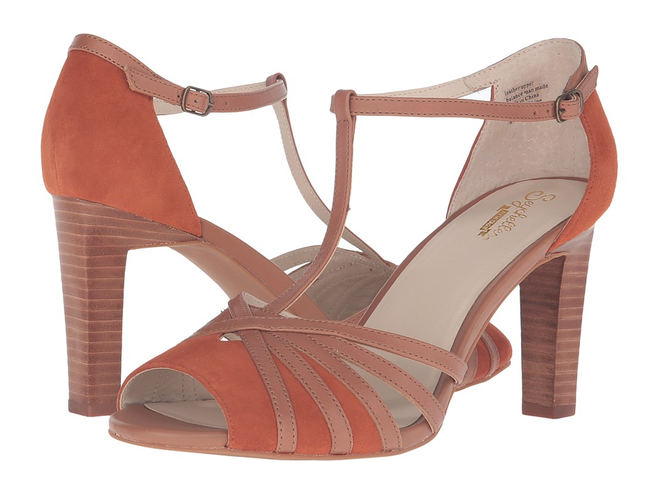 Seychelles - Lap (Rust Suede/Tan Leather) High Heels