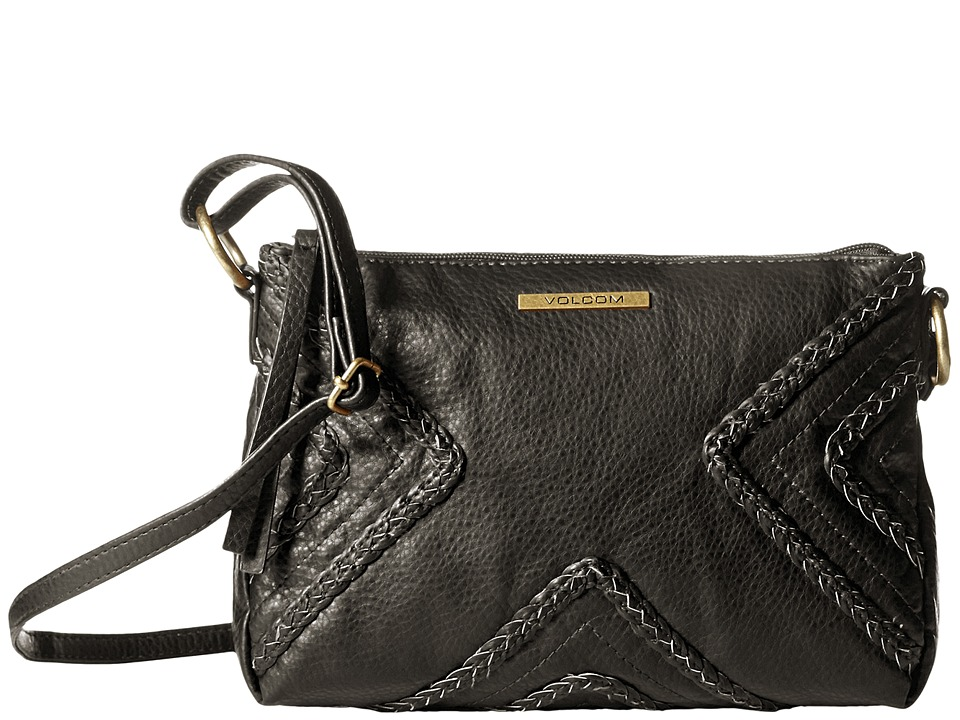 Volcom - City Girl Crossbody Bag (Black) Cross Body Handbags