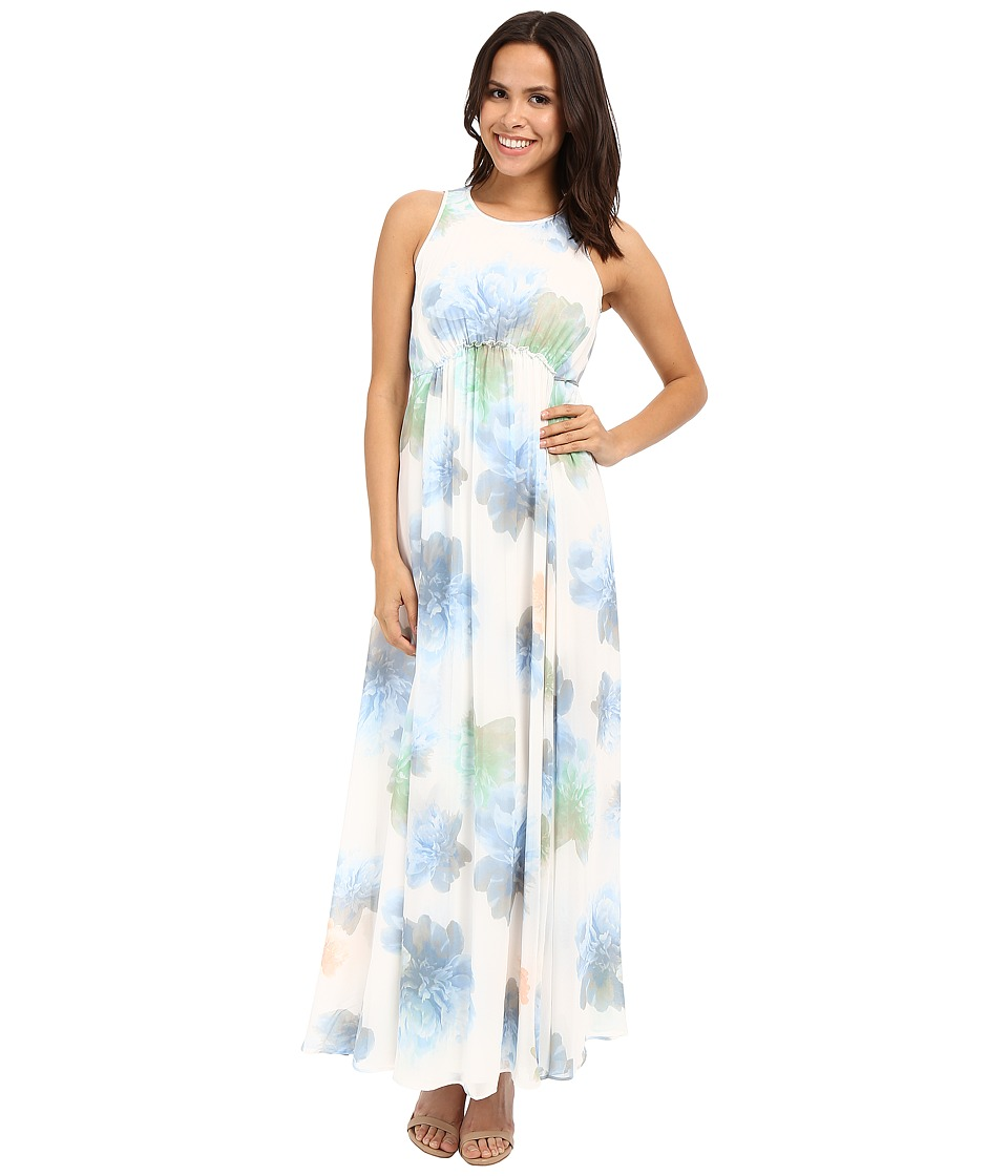 Calvin Klein - Floral Maxi Dress CD6H4R7R (Serene Multi) Women's Dress