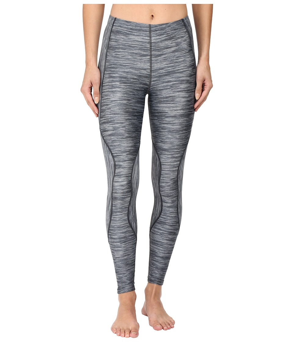 CW-X - TraXter Recovery Tights (Heather Grey Print) Women's Workout