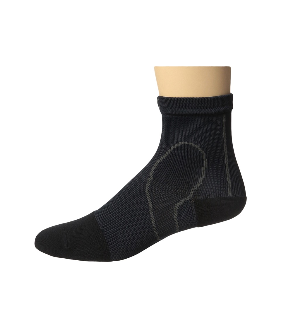 CW-X - PerformX Ankle Socks (Black) Crew Cut Socks Shoes