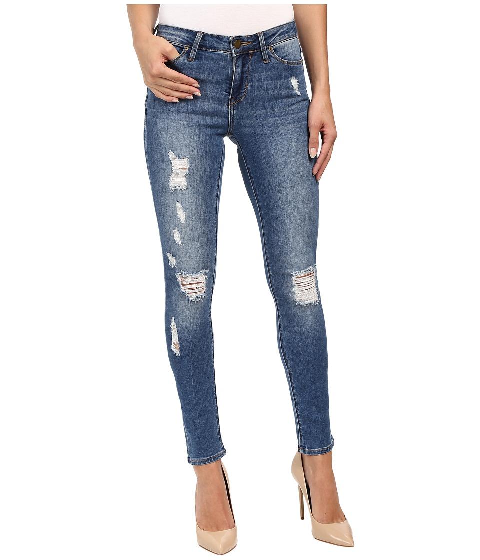 Calvin Klein Jeans - Rip Repair Ultimate Skinny in Classic Blue (Classic Blue) Women's Jeans