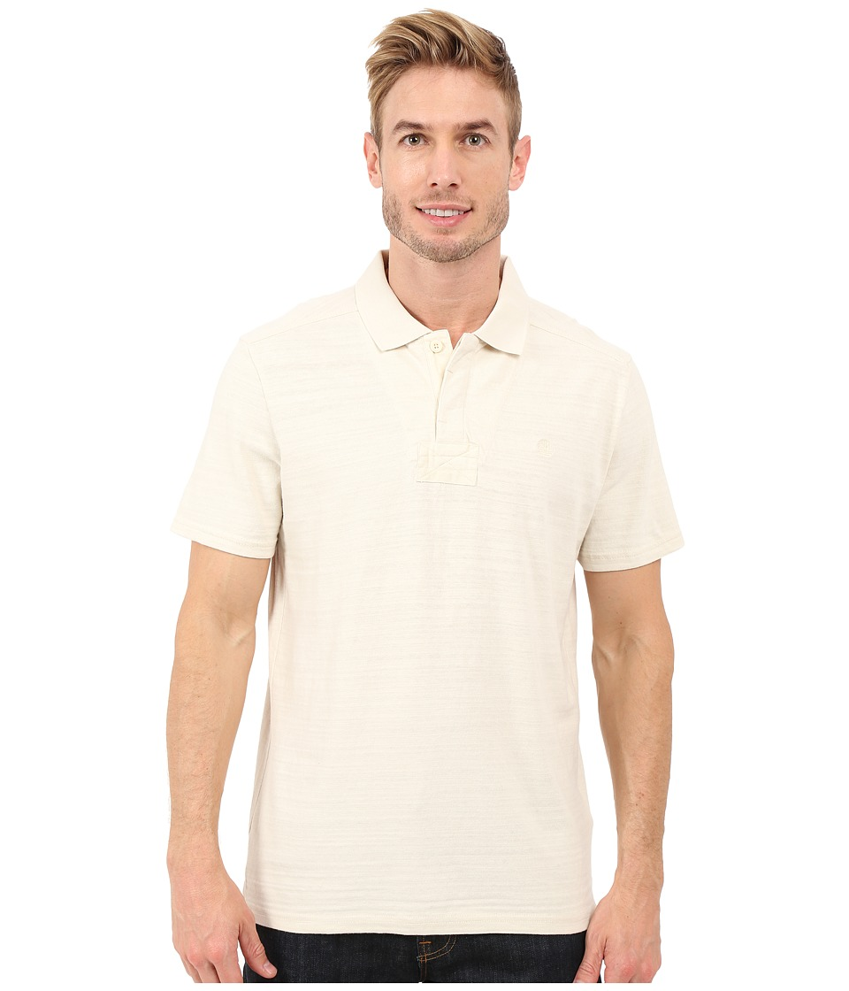 Timberland - Great Brook Slub Polo (Antique White) Men's Clothing