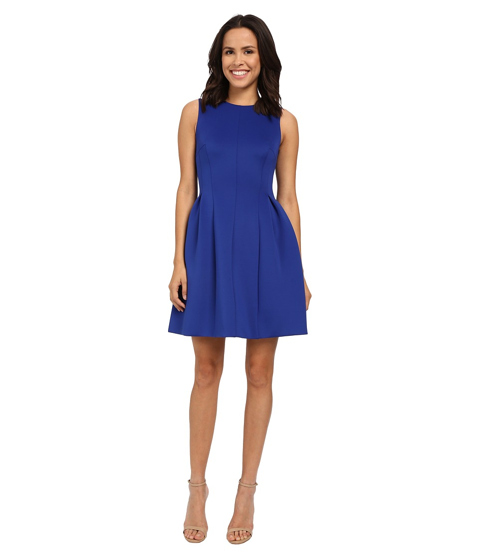 Calvin Klein - Fit and Flare Dress CD6M1110 (Atlantis) Women's Dress