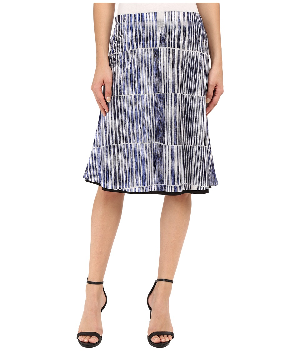 Nally & Millie - Reversible Skirt (Blue Multi) Women's Skirt