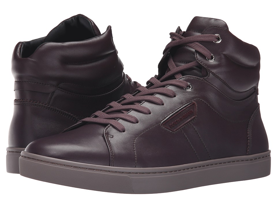 Dolce & Gabbana - CS1402A3444 (Bordeaux) Men's Lace up casual Shoes