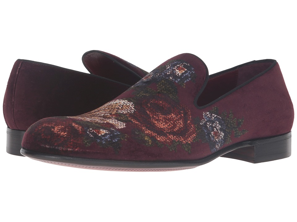 Dolce & Gabbana - A50001AD671 (Red Multi) Men's Slip on Shoes
