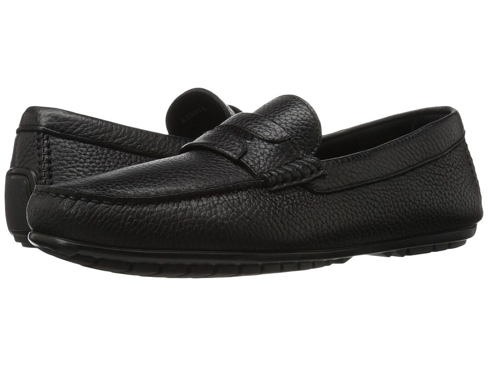 Dolce & Gabbana - A30016AC334 (Black) Men's Slip on Shoes