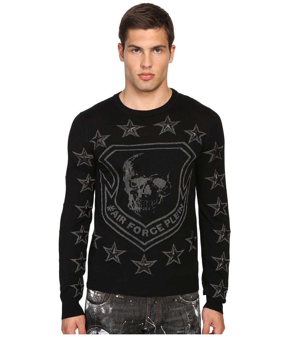 Philipp Plein - Fremd Pullover (Black) Men's Sweatshirt