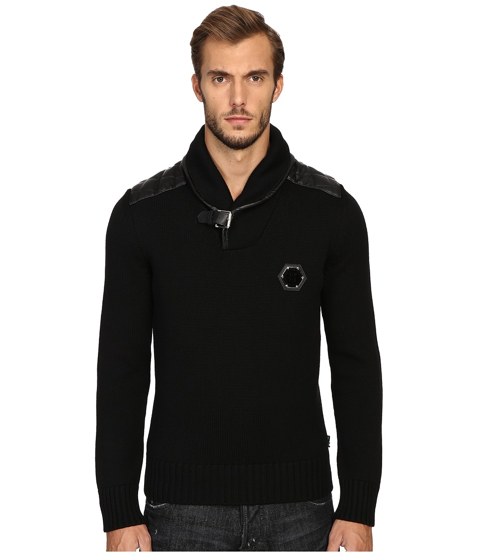 Philipp Plein - Fort Myers Pullover (Black) Men's Sweatshirt