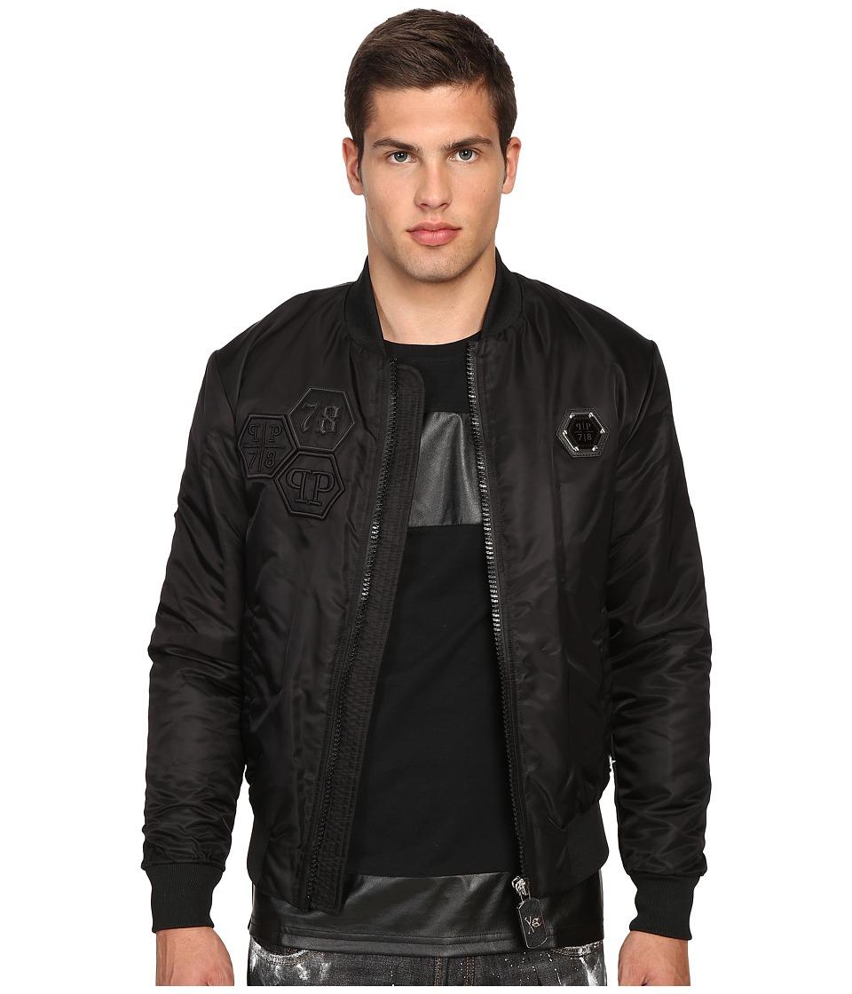 Philipp Plein - Everglades Bomber Jacket (Black) Men's Coat