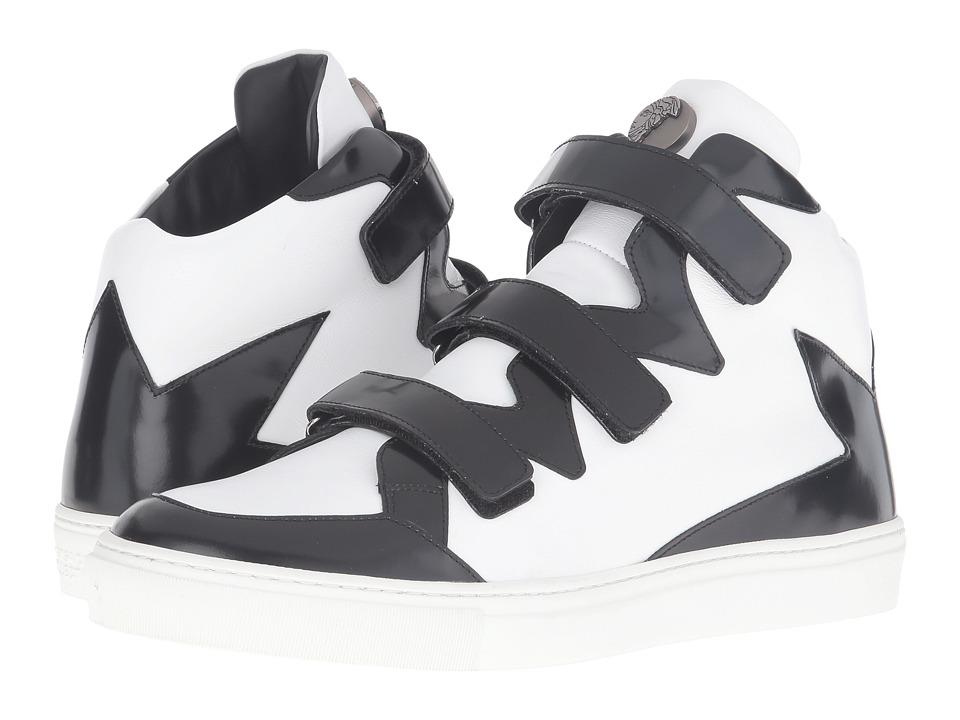 Versace Collection - V900573-VM00232-V151C (Black/White) Men's Shoes