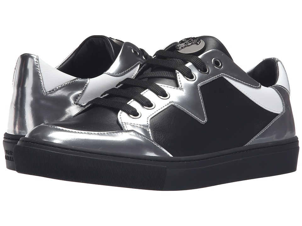 Versace Collection - V900572-VM00231-V194C (Silver/Black/White) Men's Shoes