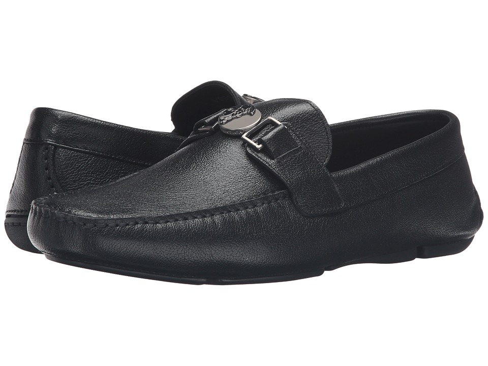 Versace Collection - V900567-VM00223-V000C (Black) Men's Slip on Shoes