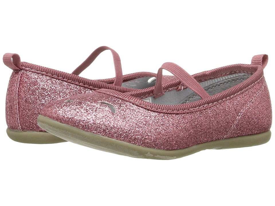 Carters - Kate 2 (Toddler/Little Kid) (Pink Glitter) Girl's Shoes