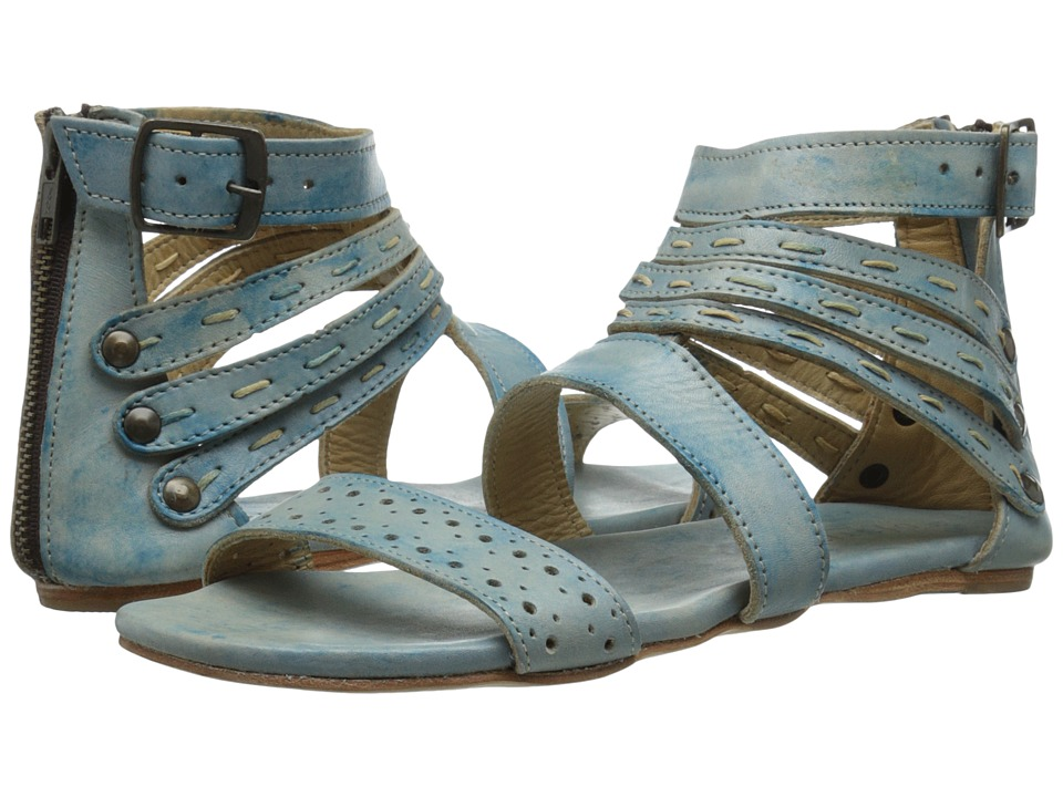 Bed Stu - Artemis (Blue Driftwood Leather) Women's Sandals