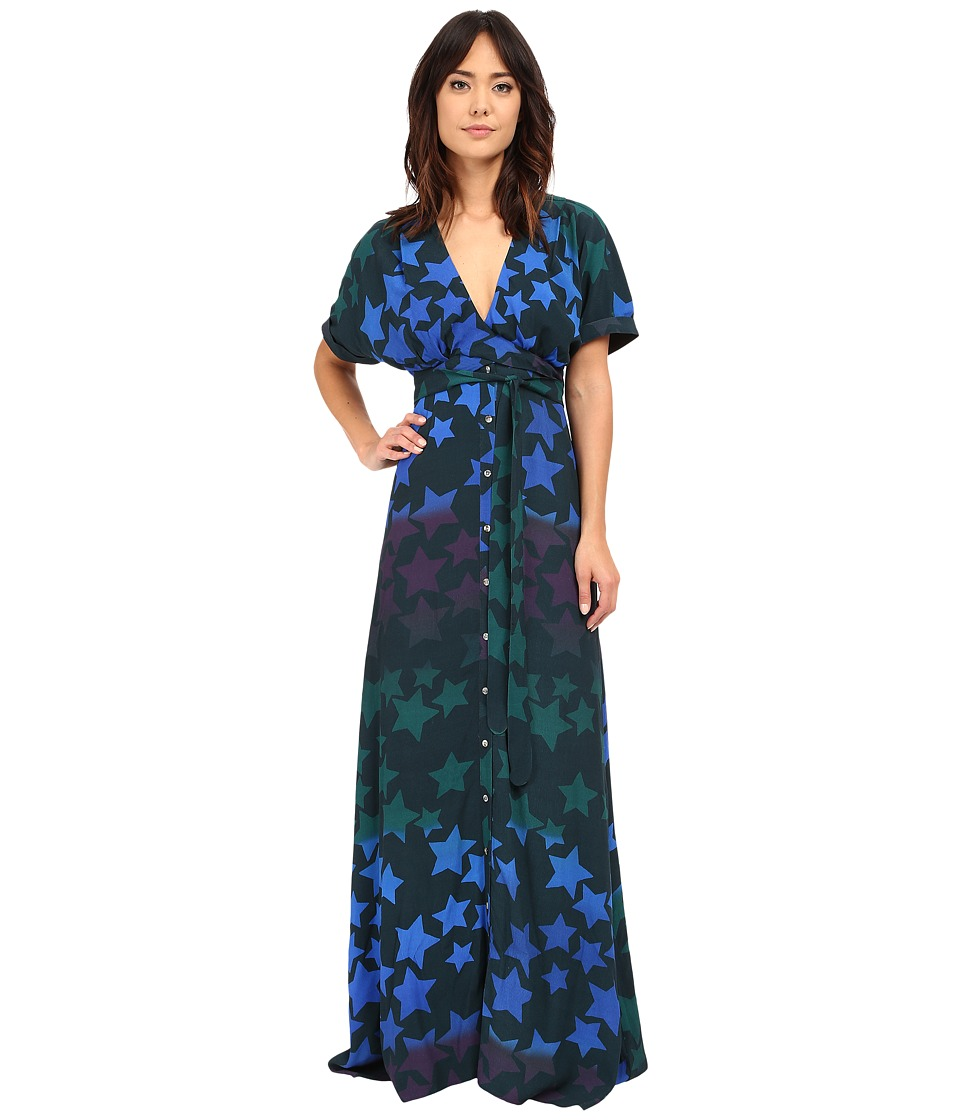 Mara Hoffman - Starblast Tie Dress (Midnight) Women's Dress